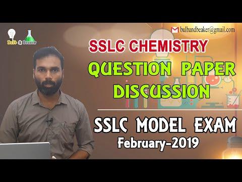 SSLC Chemistry Question
