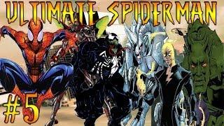 Let's Play Ultimate Spiderman Part 5 Venom Vs Electro !
