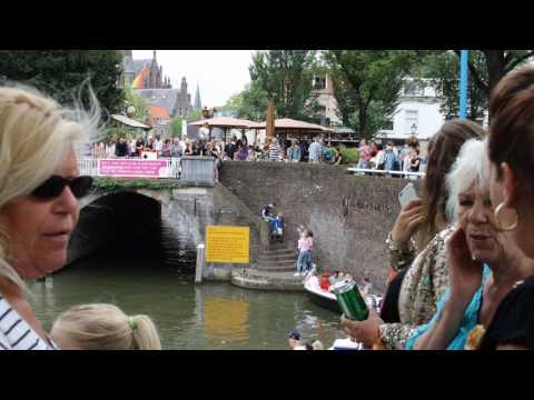 Canal prideUtrecht foto's in video gegoten
