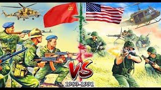 СССР vs США. ГОРЯЧАЯ ВОЙНА 1980-1991 ⭐ Армия СССР и US armed force