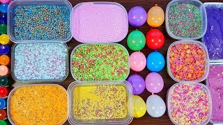 Mixing Old Slime And Stuff From Balloons #2 - Izabela Stress