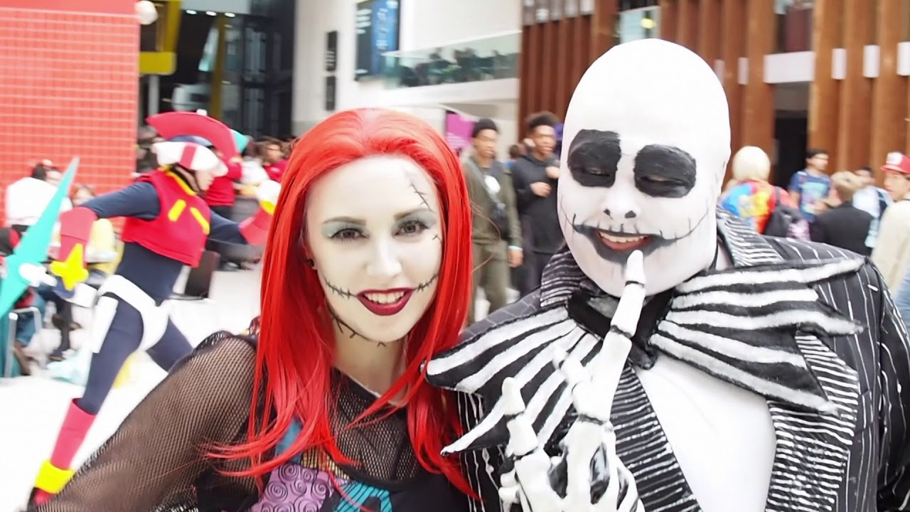 Comic Con London Vlog Oct 17. Cosplay Halloween Sally Nightmare ...