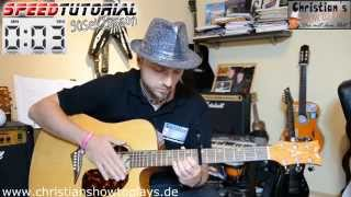 ≈ Speedtutorial 90 Sek. Lesson ≈ Milow - Ayo Technology | Deutsch Gitarren Tutorial