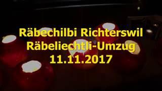 Räbechilbi Richterswil - Räbeliechtli-Umzug 11.11.2017