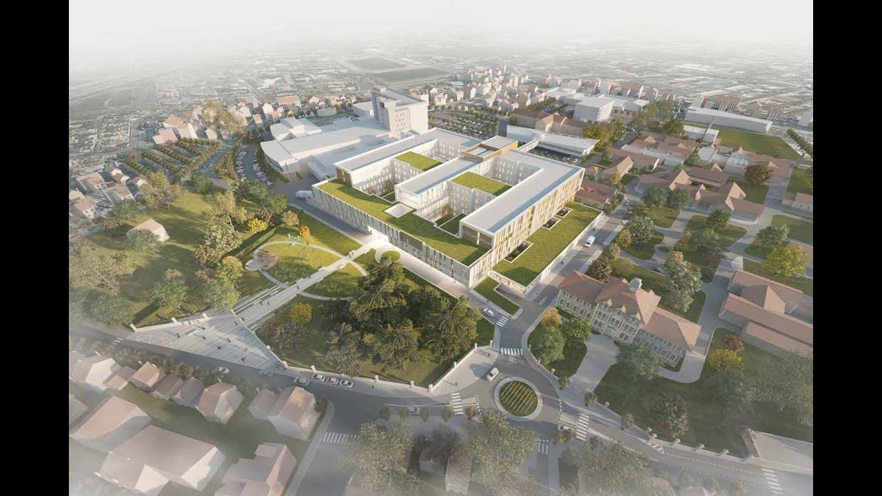 Plan Du Centre Ville De Libourne