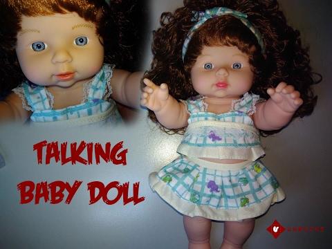 Talking Newborn Baby Doll Blue From Lazada