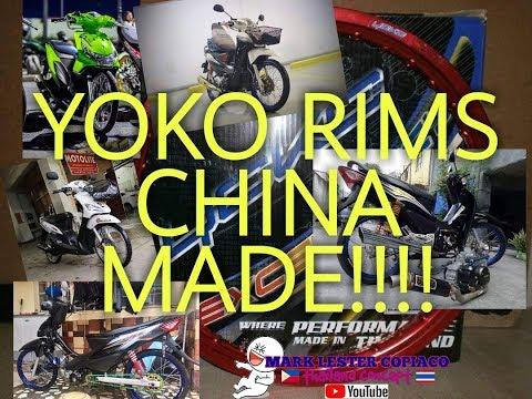 NAKOPO YOKO RIMS CHINA MADE!!!!!