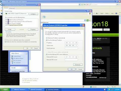 How To: Change IP Address On Windows XP