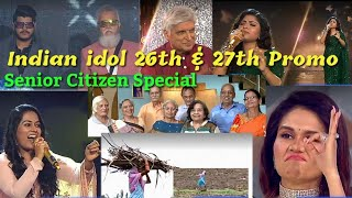Indian idol Latest Promo 26 and 27 June / Senior Citizen Special / Indian idol S12 / 2021