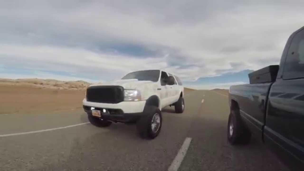Cummins Vs Powerstroke >> Street Racing Powerstroke Vs. Cummins Toxic Diesel Performance - YouTube