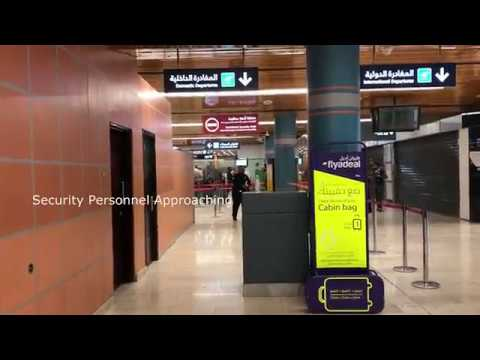I GOT CONFRONTED AT THE AIRPORT (ABHA INTERNATIONAL AIRPORT)