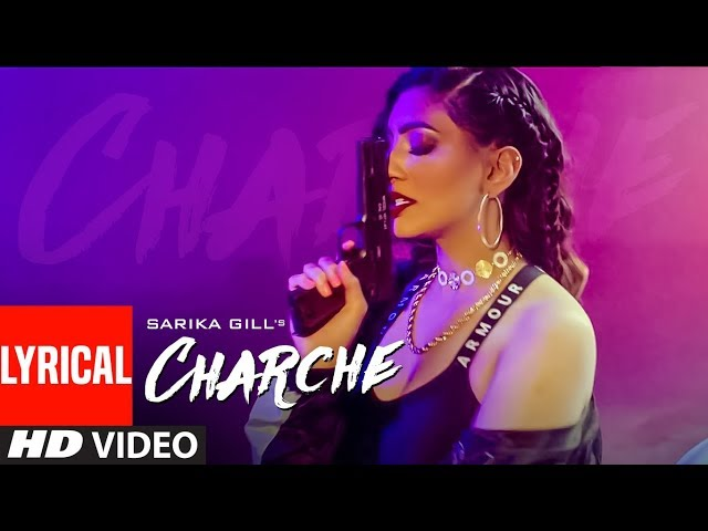 Charche (Full Lyrical Song) Sarika Gill | Snappy | Kaptaan | Latest Punjabi Song | New Punjabi Songs
