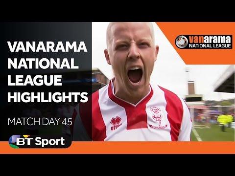 Vanarama National League Highlights Show | Matchday 45