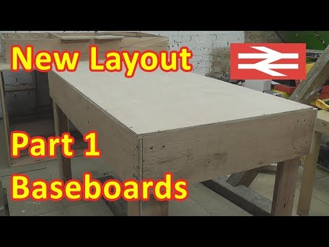 New Layout Build – Baseboards