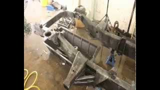 How to Paint a Galvanized Chassis with Frost High Performance Frame and Chassis