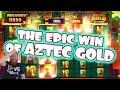 Insane Aztec Gold win towards a €10.000 bonushunt!