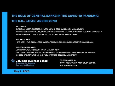 The Role of Central Banks in the COVID-19 Pandemic: The U.S., Japan, and Beyond