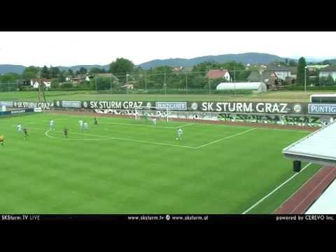Spielaufzeichnung: SK Sturm Graz 3:2 Coventry City FC (2:0)