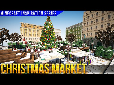 Minecraft Christmas Market - with Keralis