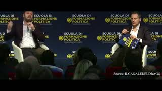 Italian PM candidate Matteo Salvini explains George Soros' Open Society Foundation activities