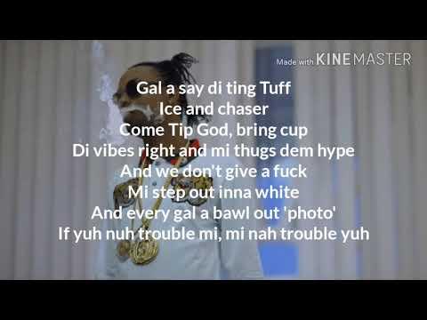 Tuff Rygin King Lyrics » Dancehall Dancehall