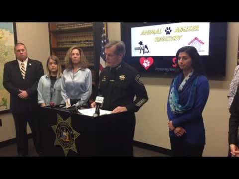 Onondaga County sheriff introduces animal abuser registry