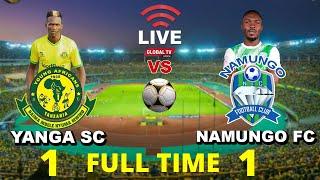 🔴#LIVE: YANGA SC vs NAMUNGO FC (1 - 1) - MCHEZO wa LIGI KUU BARA, UWANJA WA MKAPA..