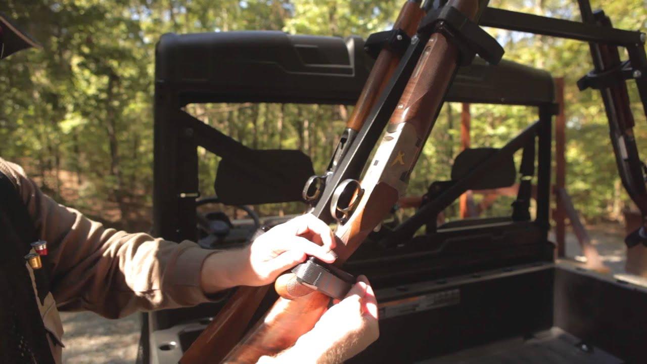 Sporting Clays Utv Gun Rack Youtube