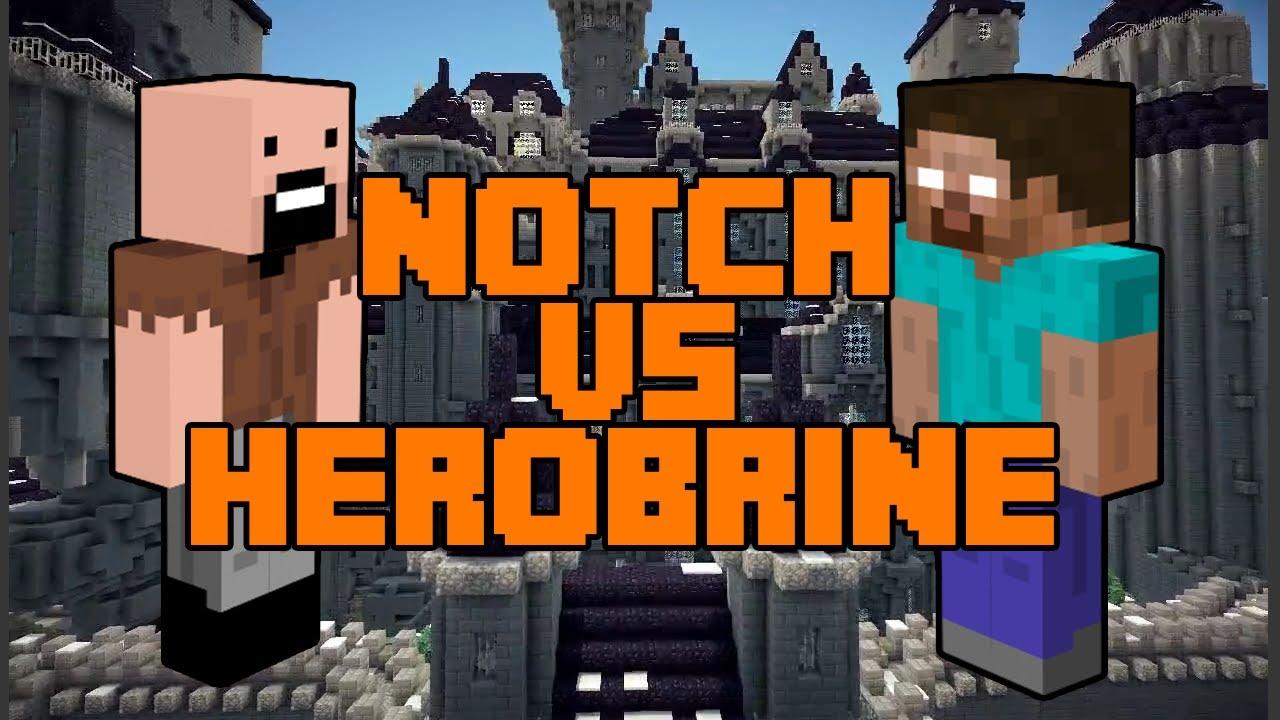 Minecraft: Notch vs. Herobrine