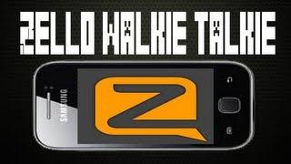 Zello walkie talkie para android