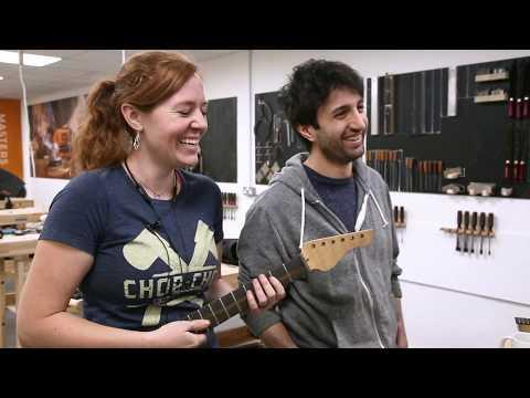 April Wilkerson & Matt Cremona Custom Electric Guitar Build - DAY 4