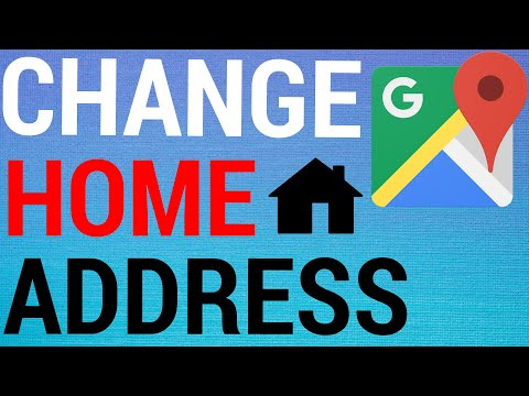 How To Change Home & Work Address on Google Maps App