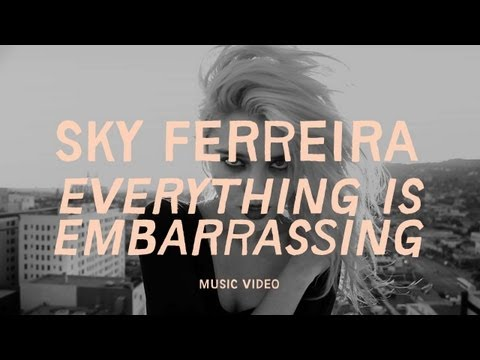 """Sky Ferreira - """"Everything is Embarrassing"""" (Official Music Video)"""