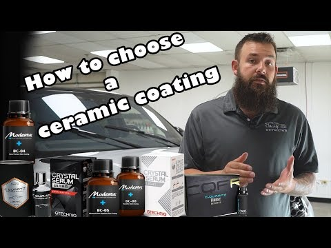 How to choose a CERAMIC COATING