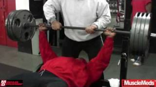 Road to the 2009 Mr. Olympia: Kai Greene Trains Chest (Part 1 of 2)