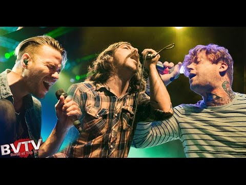 "Dance Gavin Dance (w/ Tilian, Jonny Craig & Kurt Travis) - ""Uneasy Hearts Weigh the Most"" LIVE!"
