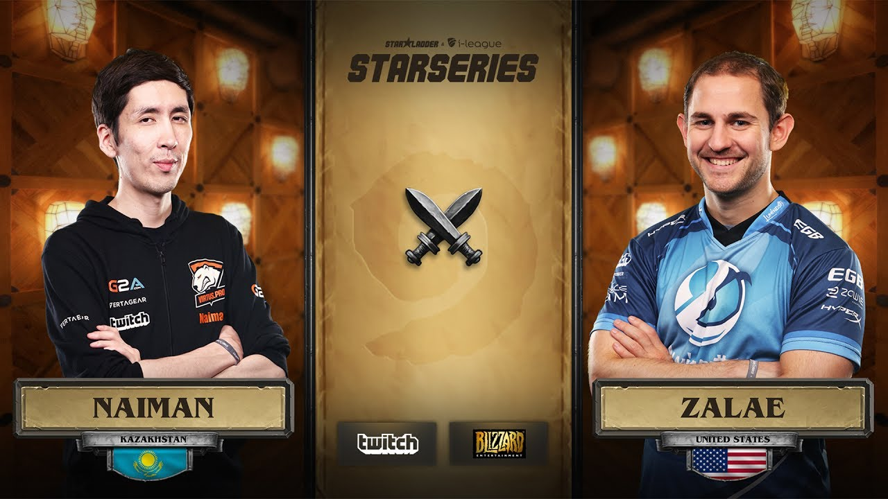 [RU] Naiman vs Zalae | SL i-League Hearthstone StarSeries Season 3 (09.06.2017)