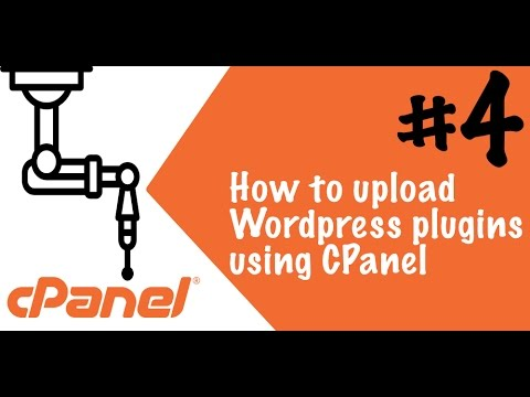 How to install & upload WordPress Plugins with CPanel