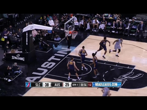 Bryn Forbes NBA D-League Highlights: March 2017