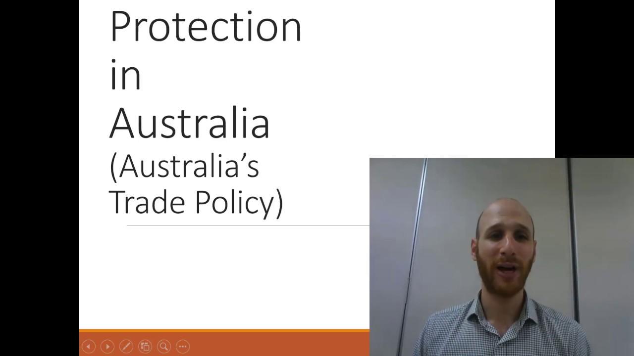 australia trade policy