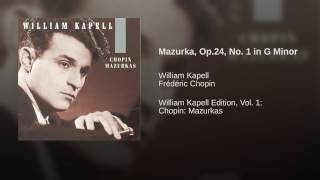 Mazurka, Op.24, No. 1 in G Minor