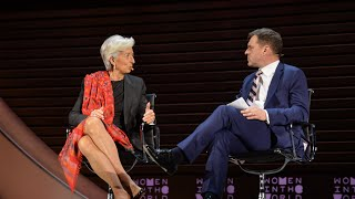 Christine Lagarde on the economic impact of the refugee crisis