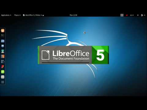 How to install Libreoffice ( MSOffice alternative) in Debian based Linux systems