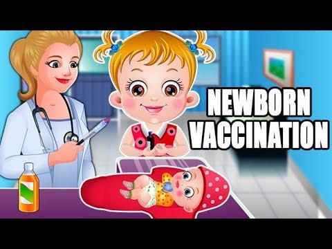 Baby Hazel Newborn Vaccination | Fun Game Videos By Baby Hazel Games