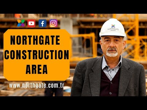 Northgate Ankara - Construction Area Stage 1 of the Megaproject in Turkey with subtitles