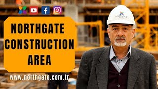 northgate ankara construction area stage 1 of the megaproject in turkey with subtitles