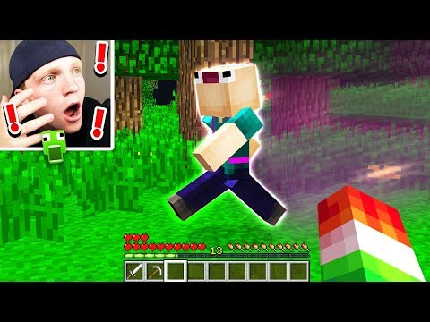 FINDING ASWDFZXC IN MINECRAFT... (SCARY SIGHT)