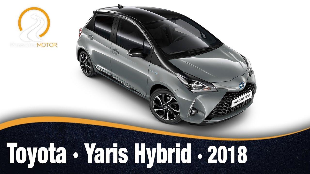 Nuevo Toyota Auris 2018 >> Toyota Yaris Hybrid 2018 | Información Review Español - YouTube