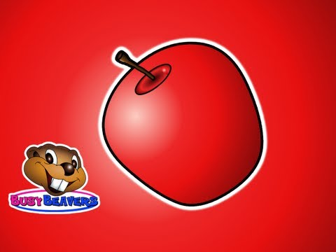 """""""The Apple is Red"""" - (Full) Teach Colors, Learn Colours, Baby Toddler Preshcool Kids Songs"""