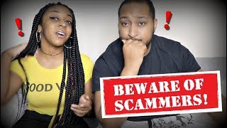 HE TRIED TO SCAM US!!!